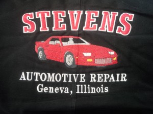 Stevens Automotive Repair Name Jacket